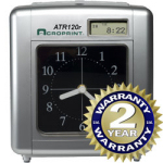 Acroprint ATR120 time clock at www.raleightime.com