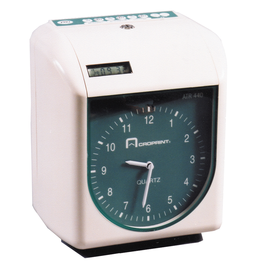 Acroprint ATR440 time clock accessories at www.raleightime.com