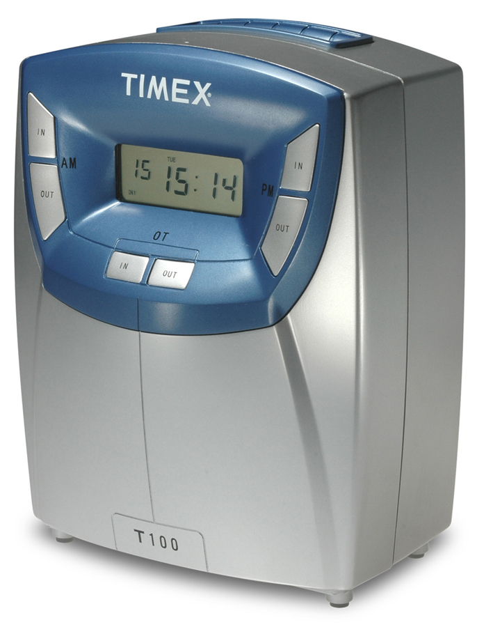 Acroprint Timex T100 time clock at www.raleightime.com