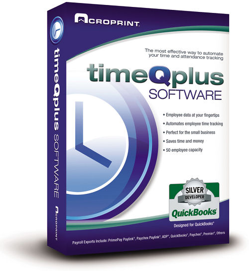 Acroprint timeQplus V3 software at www.raleightime.com