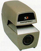 Rapidprint ARD-E Checksigner stamp at www.raleightime.com